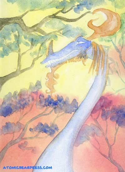 Watercolor Canvas test