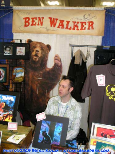 Ben Walker at Wondercon 08