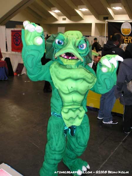 Makeshift Monster at Wondercon 2008