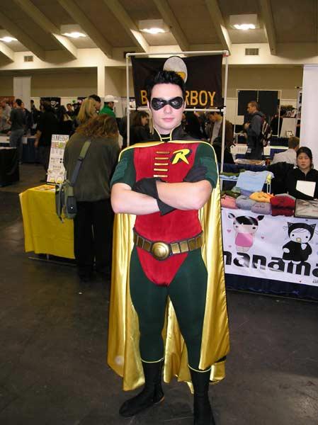 Robin, the boy wonder at Wondercon 2008