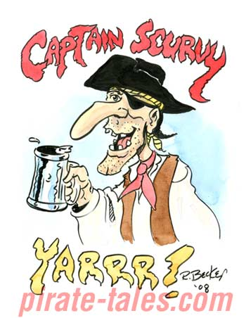 Captain Scurvy ©2008 Richard Becker.