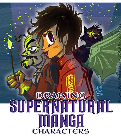 cartooning class: Supernatural Manga with Brian Kolm