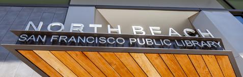 North Beach Library Branch in San Francisco CA